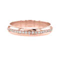 Unique Eternity Ring Rose Gold
