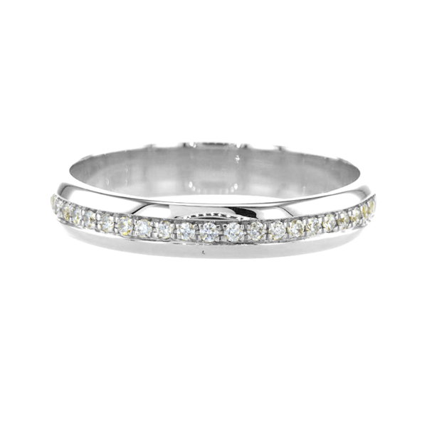Unique Eternity Ring White Gold